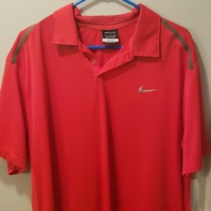 Mens nike gold shirt